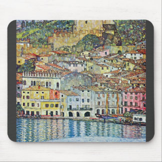 Malcena at the Gardasee by Gustav Klimt Mouse Pad