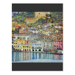 Malcena at the Gardasee by Gustav Klimt Post Cards