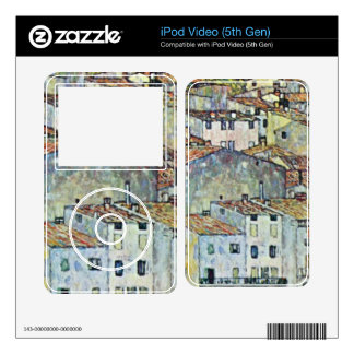 Malcena at the Gardasee by Gustav Klimt Skins For iPod Video 5G