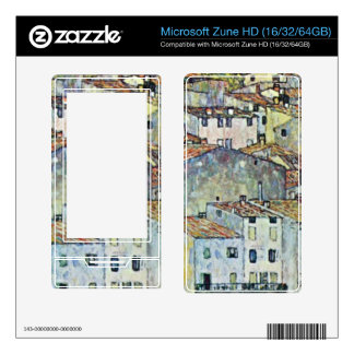 Malcena at the Gardasee by Gustav Klimt Skins For The Zune HD