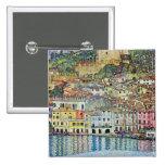 Malcena en el Gardasee de Gustavo Klimt Pins