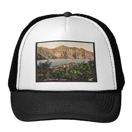 Malcesine, Garda, lago de, vintage Photochro de It Gorro