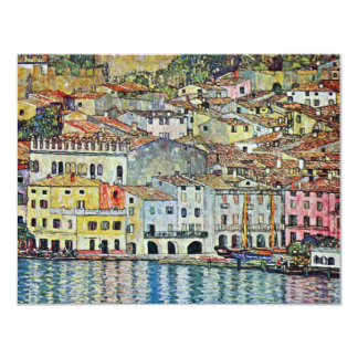 Malcesine on Lake Garda By Gustav Klimt Card