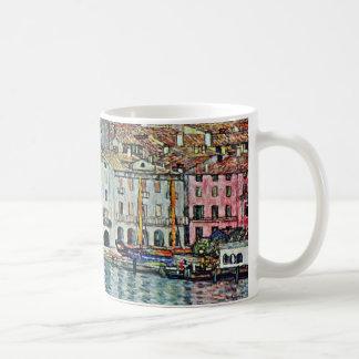 Malcesine on Lake Garda By Gustav Klimt Coffee Mug
