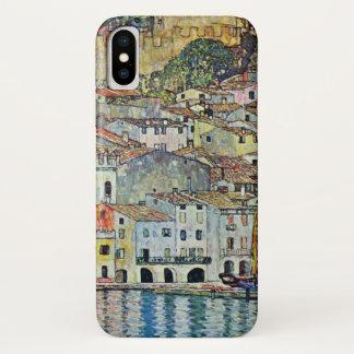 Malcesine on Lake Garda By Gustav Klimt iPhone X Case