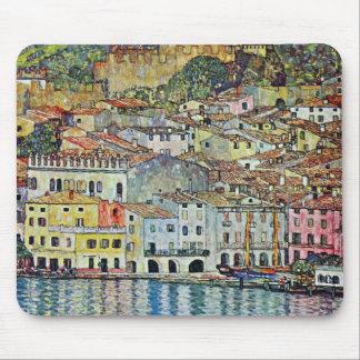 Malcesine on Lake Garda By Gustav Klimt Mouse Pad
