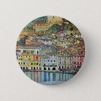 Malcesine on Lake Garda By Gustav Klimt Pinback Button