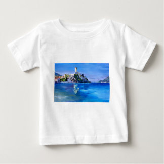 Malcesine with Castello Scaligero Baby T-Shirt