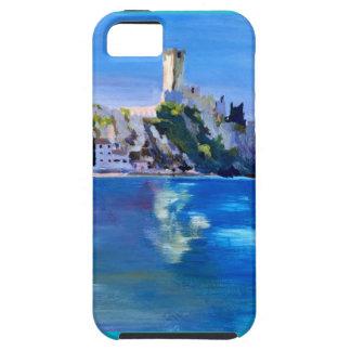 Malcesine with Castello Scaligero iPhone 5 Cases