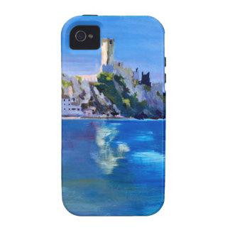 Malcesine with Castello Scaligero iPhone 4 Cases