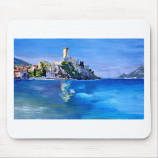 Malcesine with Castello Scaligero Mouse Pad
