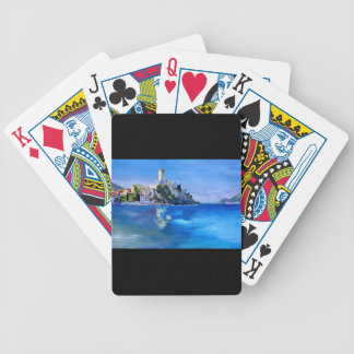 Malcesine with Castello Scaligero Bicycle Card Deck