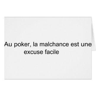 malchance card