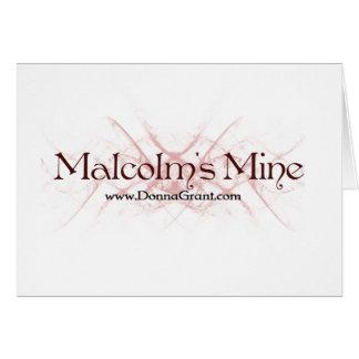 Malcolm Greeting Card