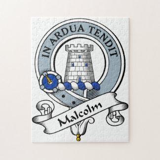 Malcolm Clan Badge (MacCullum) Jigsaw Puzzle