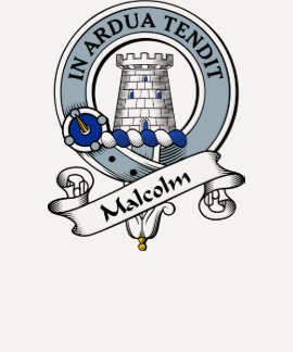 Malcolm Clan Badge (MacCullum) T-shirt