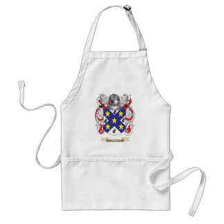 Malcolm Coat of Arms (Family Crest) Adult Apron