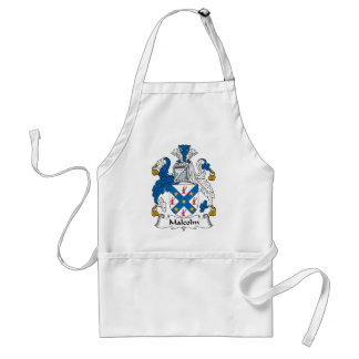 Malcolm Family Crest Adult Apron