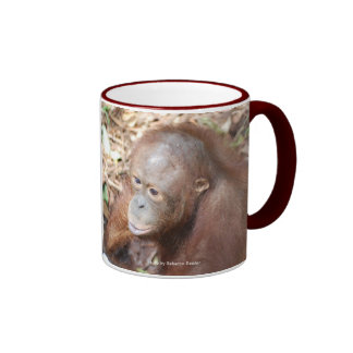 Malcolm Orangutan OFI Ringer Coffee Mug