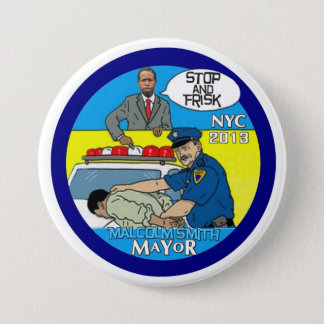 Malcolm Smith for NYC Mayor 2013 Pinback Button