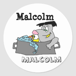 Malcolm Stickers
