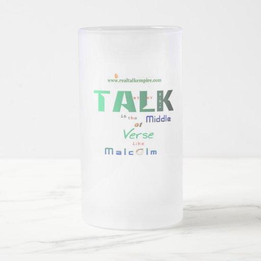 Malcolm - vidrio taza de café