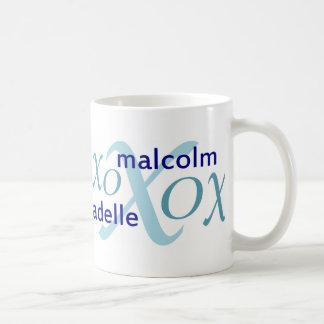 Malcolm y serie de Adelle Taza Clásica
