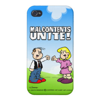 Malcontents Unite iPhone 4/4S Covers