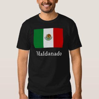 Maldanado Mexican Flag T-shirt
