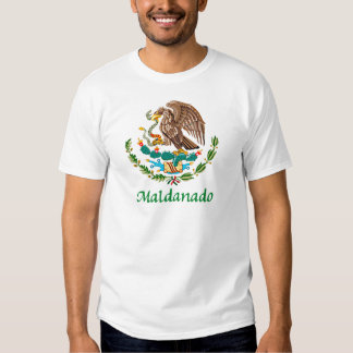 Maldanado Mexican National Seal Tee Shirt
