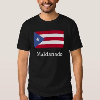 Maldanado Puerto Rican Flag T-shirt