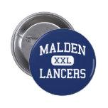 Malden - Lancers - Catholic - Malden Massachusetts Pins