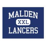 Malden - Lancers - Catholic - Malden Massachusetts Postcards