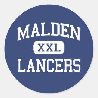 Malden - Lancers - Catholic - Malden Massachusetts Sticker