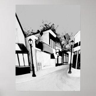 Malden Living Print