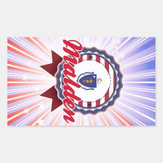 Malden MA Rectangle Sticker