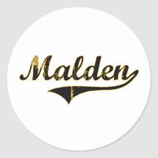 Malden Missouri Classic Design Sticker