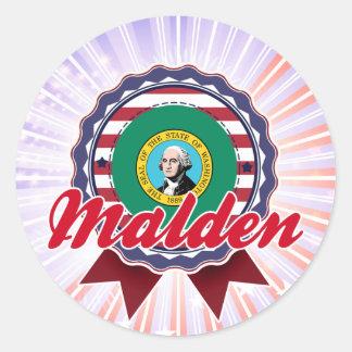 Malden WA Sticker
