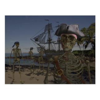 Maldición de los piratas postales