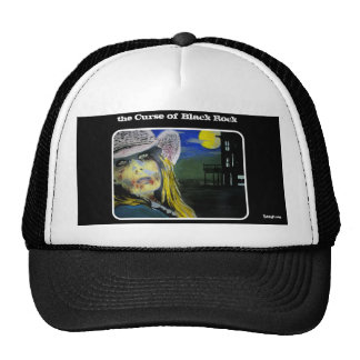 Maldición del gorra negro del camionero de la roca