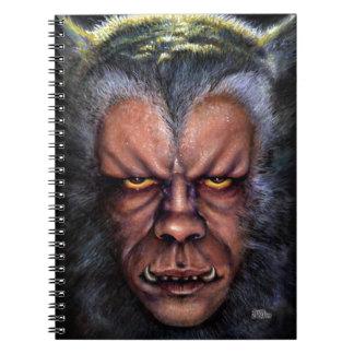 Maldición del hombre lobo libreta
