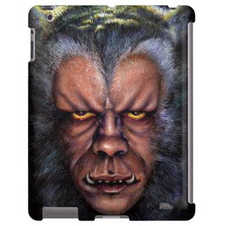 Maldición del hombre lobo funda para iPad