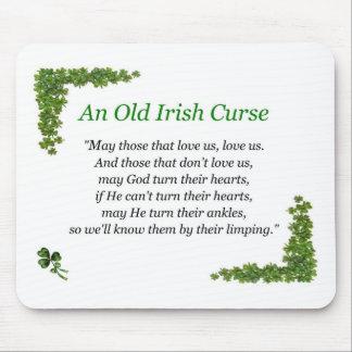 maldición del irlandés tapetes de ratones