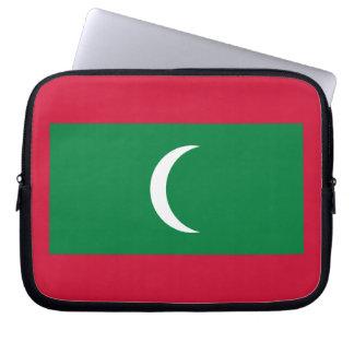 Maldivan Flag Laptop Sleeve