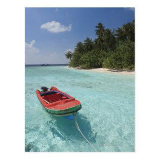 Maldivas, atolón masculino, isla de Kuda Bandos Tarjeta Postal