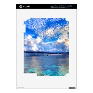 MALDIVES 1 iPad 3 DECALS