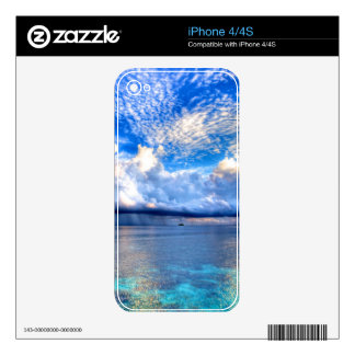 MALDIVES 1 SKINS FOR iPhone 4