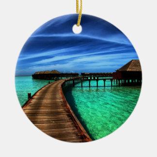 MALDIVES 2 CERAMIC ORNAMENT