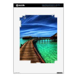 MALDIVES 2 iPad 3 DECALS