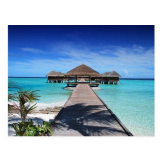 maldives-666122 TROPICAL PARADISE BACKGROUNDS WALL Postcard
